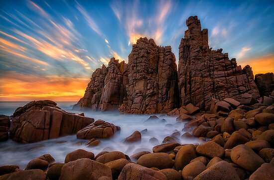 The Pinnacles by Lincoln Harrison