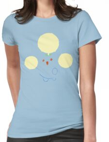 Jumpluff Pokemon Womens Fitted T-Shirt