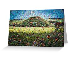 Silbury Hill Machine Dreams Greeting Card