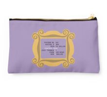 Character Names in Frame - F.R.I.E.N.D.S Studio Pouch