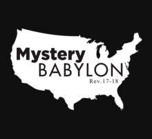 MYSTERY BABLYON BLK by NatanYah Ysrayl