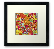 Impressive Witty Exciting Bravo Framed Print