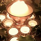 Advent Candles by opentoesandals