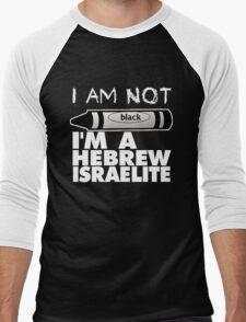 NOT BLACK BLK Men's Baseball ¾ T-Shirt
