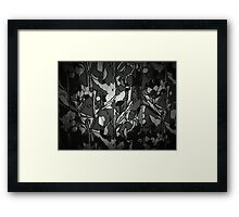 Branch Pattern Framed Print
