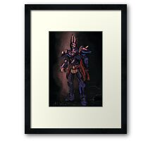 The Evil Overlord Framed Print