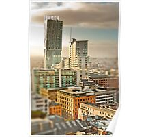 Beetham Tower, Manchester (tilt and shift) Poster