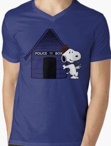 bigger on the inside Mens V-Neck T-Shirt
