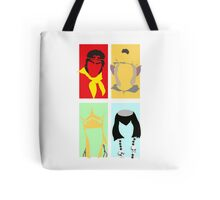 Monkey Magic 4 - Plain Design Tshirt Tote Bag