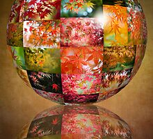 Autumn Globe by Jacky Parker