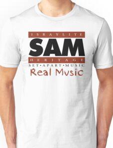 """SAM """"YAH'S VOICES COLOR"""" (WHT) Unisex T-Shirt"""
