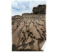 Beach Rocks - Wales Poster