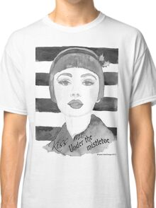 Black and white 30's girl Classic T-Shirt