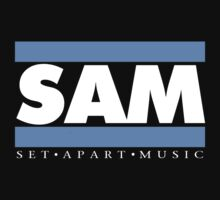 SAM REAL MUSIC  WHT LETTERS(plain 2) by NatanYah Ysrayl