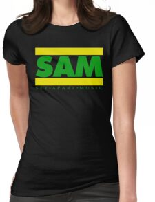 SAM GREEN YELLOW(Plain 2) Womens Fitted T-Shirt