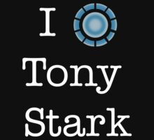 I (Heart) Tony Stark T-Shirt