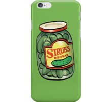 Strub Pickles iPhone Case/Skin