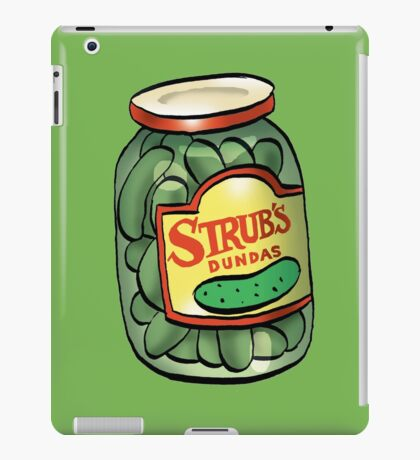 Strub Pickles iPad Case/Skin