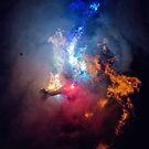 Bonfire Nebula by Fred Hatt