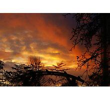 November Sky - Belgium Photographic Print