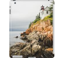 Stormy Cliffside Scenic Lighthouse iPad Case/Skin