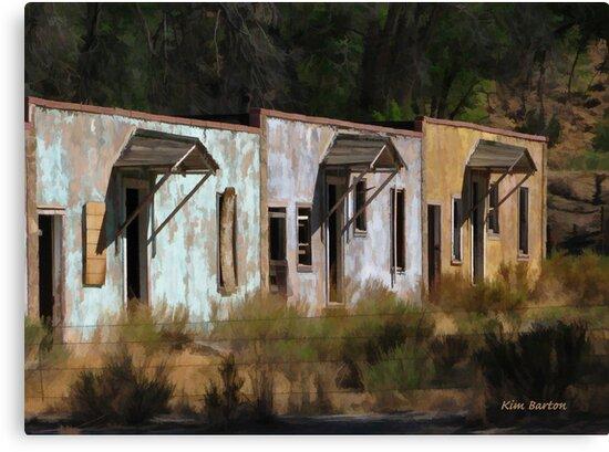 Old Dinosaur Motel by Kim Barton