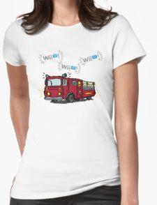 WiiU! WiiU! WiiU! (Basic) Womens Fitted T-Shirt