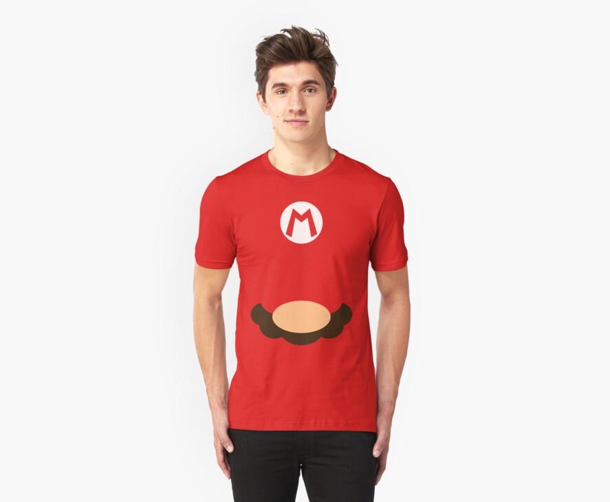 Mario Minimalist by Wennu