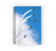 Breitling air display team L-39 Albatross Spiral Notebook