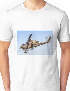 Israeli Air force (IAF) helicopter, Bell AH-1 Cobra in flight Unisex T-Shirt