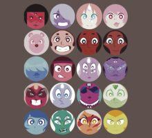 Steven Universe - (Updated) Cast Pattern! One Piece - Short Sleeve