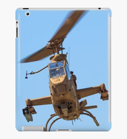 Israeli Air force (IAF) helicopter, Bell AH-1 Cobra in flight iPad Case/Skin