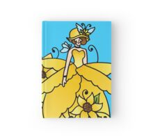 Sunflower Girl Hardcover Journal