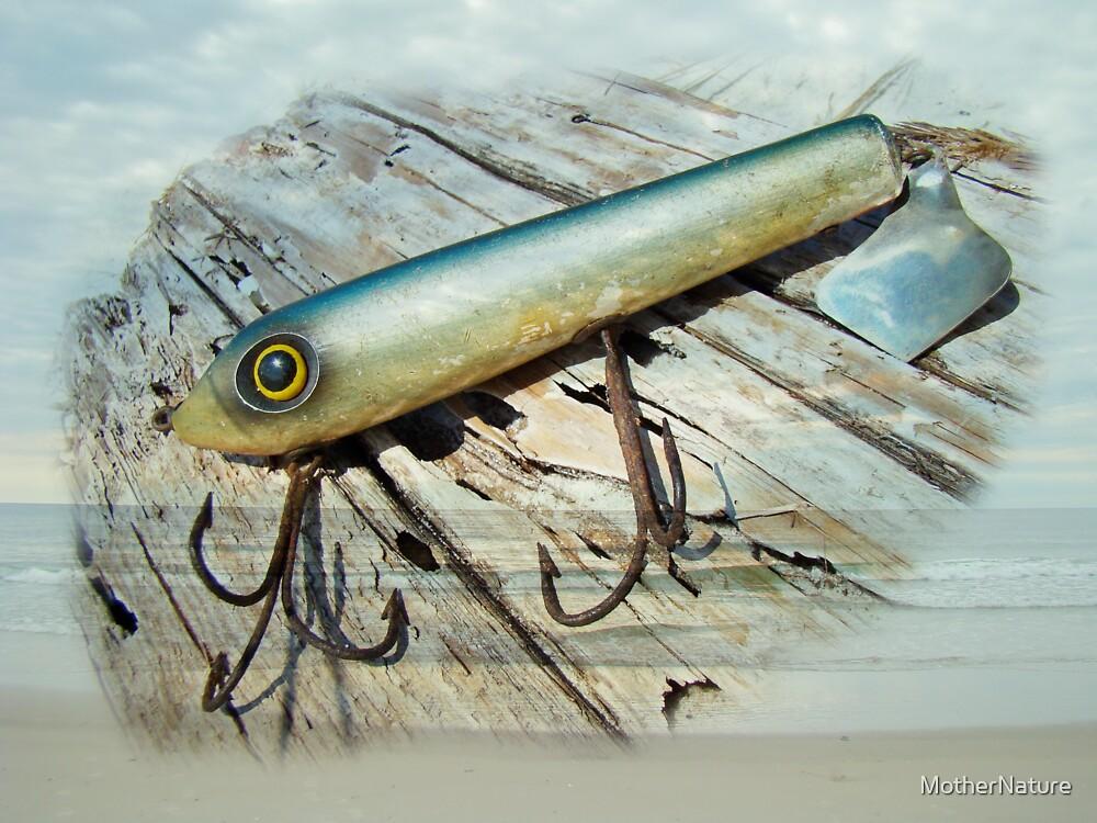 Vintage Saltwater Fishing Lure - Striper X Pert Surf Slapper by MotherNature
