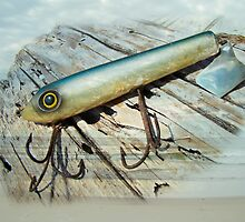 Vintage Saltwater Fishing Lure - Striper X Pert Surf Slapper by MotherNature