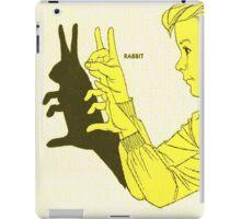 Run Rabbit Run : Such a Good Boy iPad Case/Skin