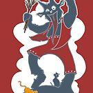 Krampus - Cloud + Cats by dawlism