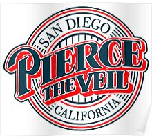 pierce the veil Baseball Poster