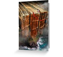 Cliffhanger Greeting Card