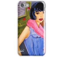 Snow Cone Girl iPhone Case/Skin