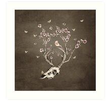 Life 2 - Sepia Version Art Print