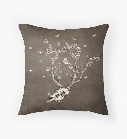 Life 2 - Sepia Version Throw Pillow