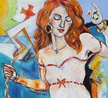 She Beckons by Reynaldo