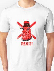 Resist the Daleks! Unisex T-Shirt