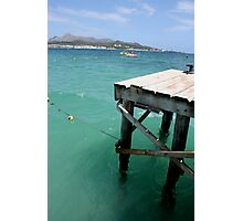 diving dock Photographic Print