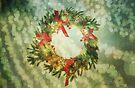Sparkling Christmas Wreath by Denise Abé