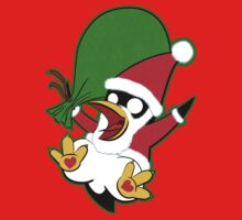 Hippo the Christmas Penguin! Baby Tee