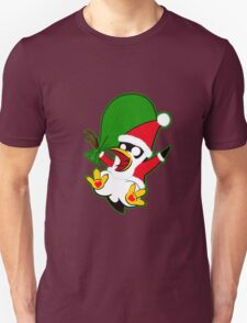 Hippo the Christmas Penguin! Unisex T-Shirt