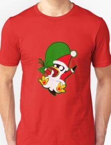 Hippo the Christmas Penguin! Unisex T-Shirt