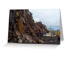 We Built This City... Greeting Card